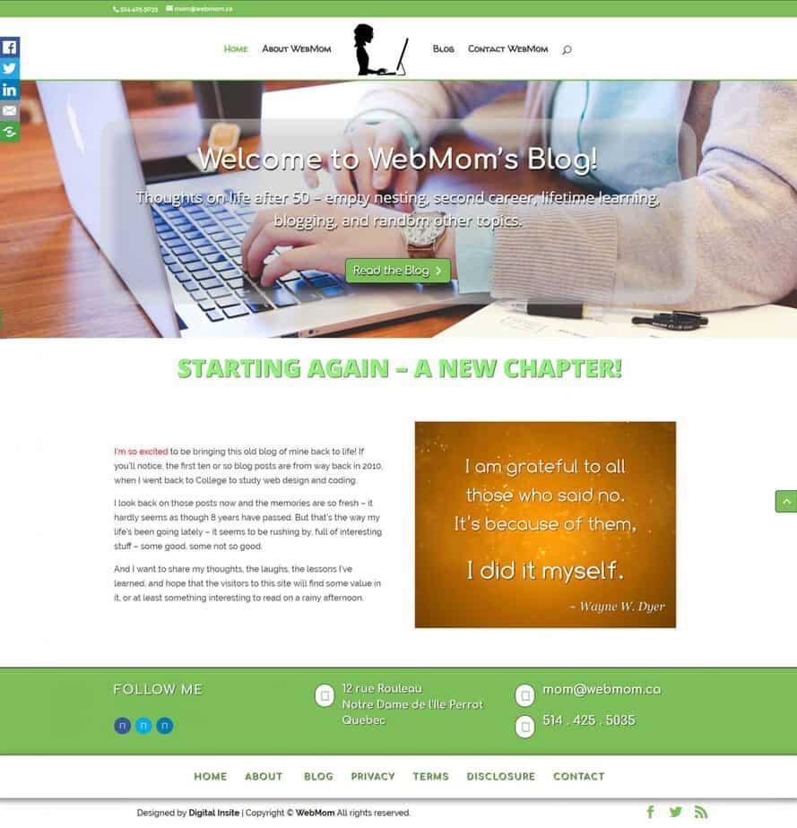 WebMom's Blog