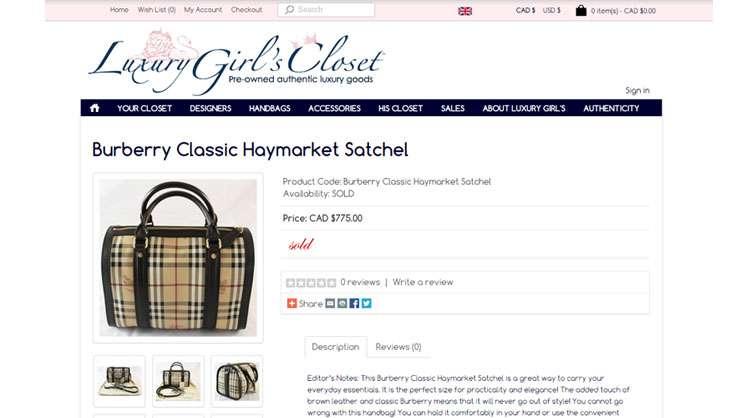 Luxury Girl's Closet